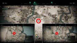 assassins creed valhalla ledecestrescire hoard treasure map solution
