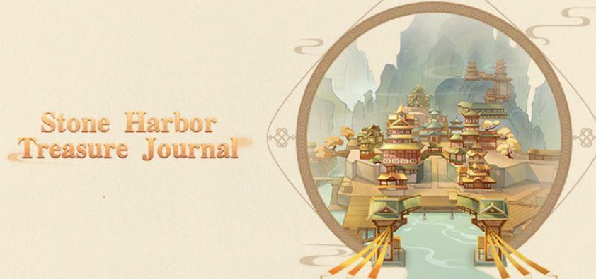 genshin impact stone harbor treasure journal announced