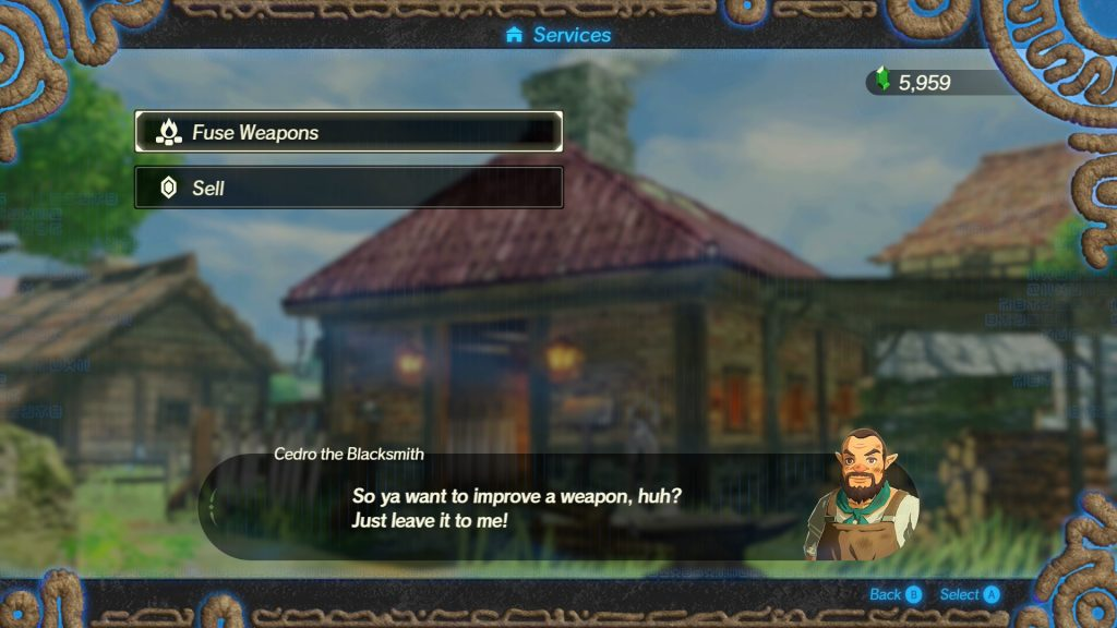 hyrule warriors age of calamity best weapon buffs