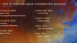 icebrood saga champions release roadmap guild wars 2