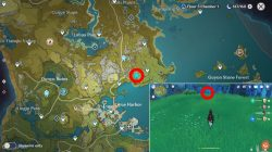northeast liyue harbor hilichurls wei location