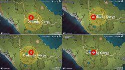 sword cemetery dadaupa gorge genshin impact bounties locations