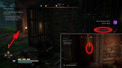 where to find ac valhalla meldeburne key bug