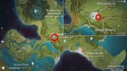 where to find genshin impact hilichurls wei wolvendom