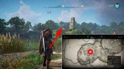 where to find oxenefordscire lake cursed symbol ac valhalla