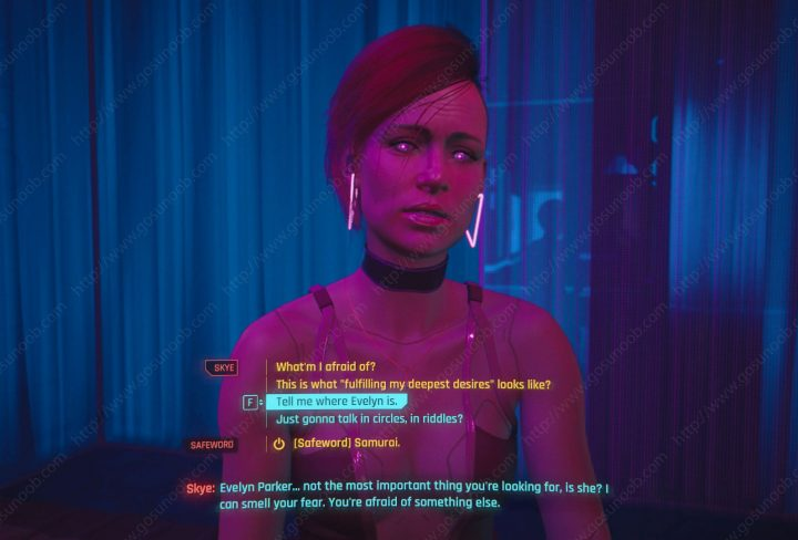 Automatic Love Angel or Skye Cyberpunk 2077