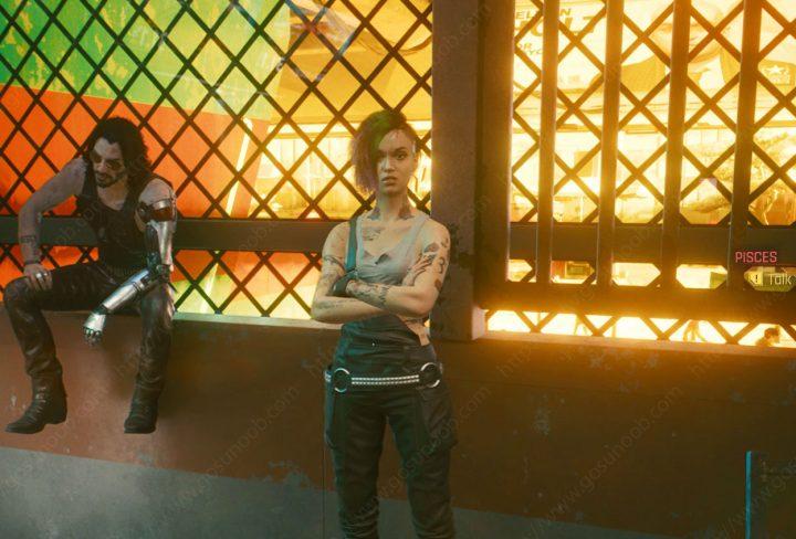 Cyberpunk 2077 Pisces Choices - Judy Romance - Kill Maiko Choice