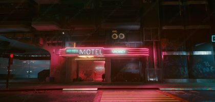 No Tell Motel Cyberpunk Location