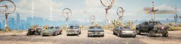 cyberpunk 2077 cars list free car locations