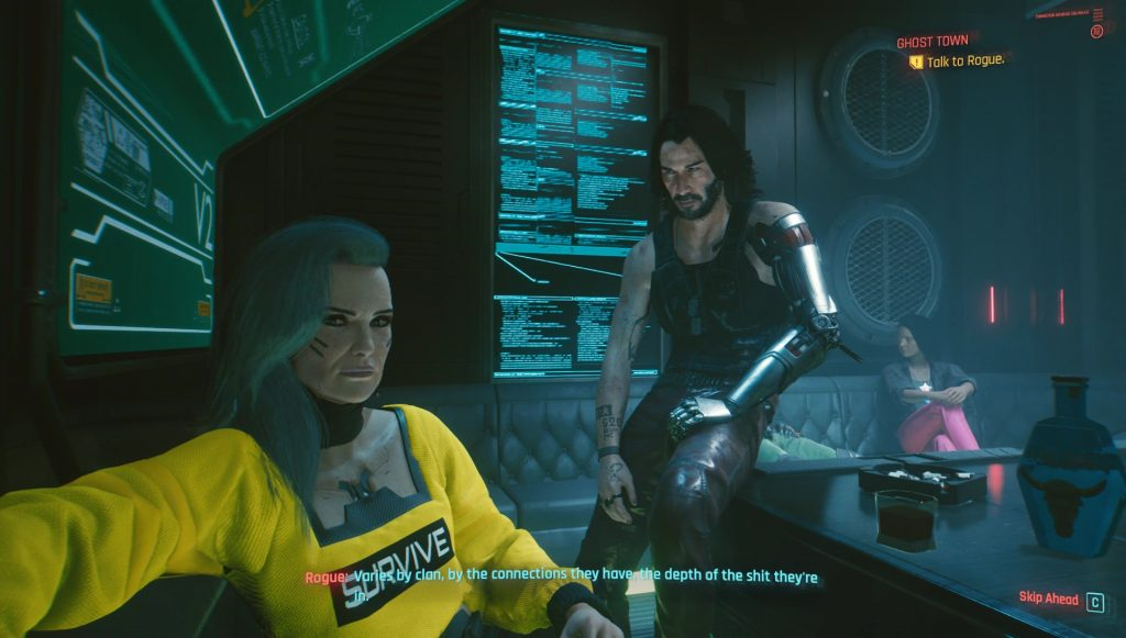 cyberpunk 2077 ghost town call panam bug solution