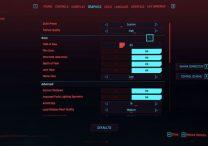 cyberpunk 2077 hdr settings
