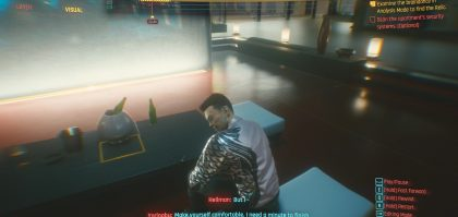cyberpunk 2077 information braindance