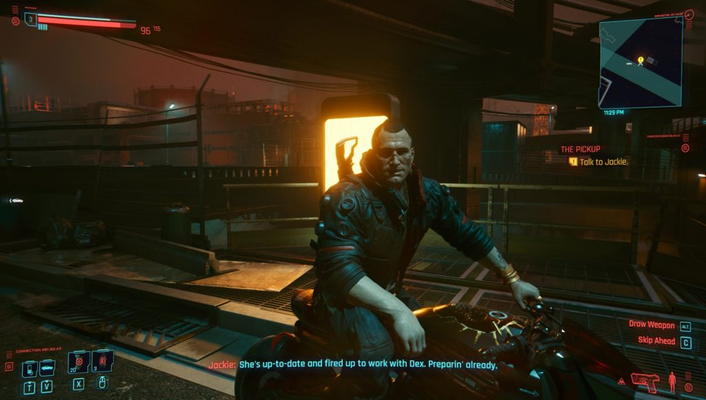 cyberpunk 2077 jackie missing pickup quest bug