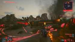 cyberpunk 2077 life during wartime take out the turret