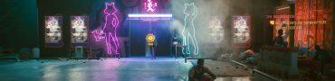 cyberpunk 2077 lizzies bar go between 6pm and 6am skip time