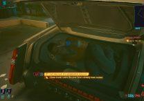 cyberpunk 2077 olive branch let alex out close trunk