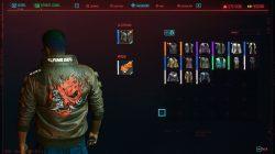 cyberpunk 2077 samurai jacket back johnny silverhand