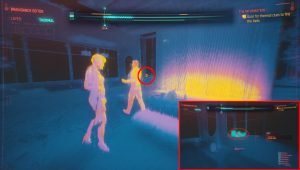 cyberpunk 2077 scan thermal clues relic location