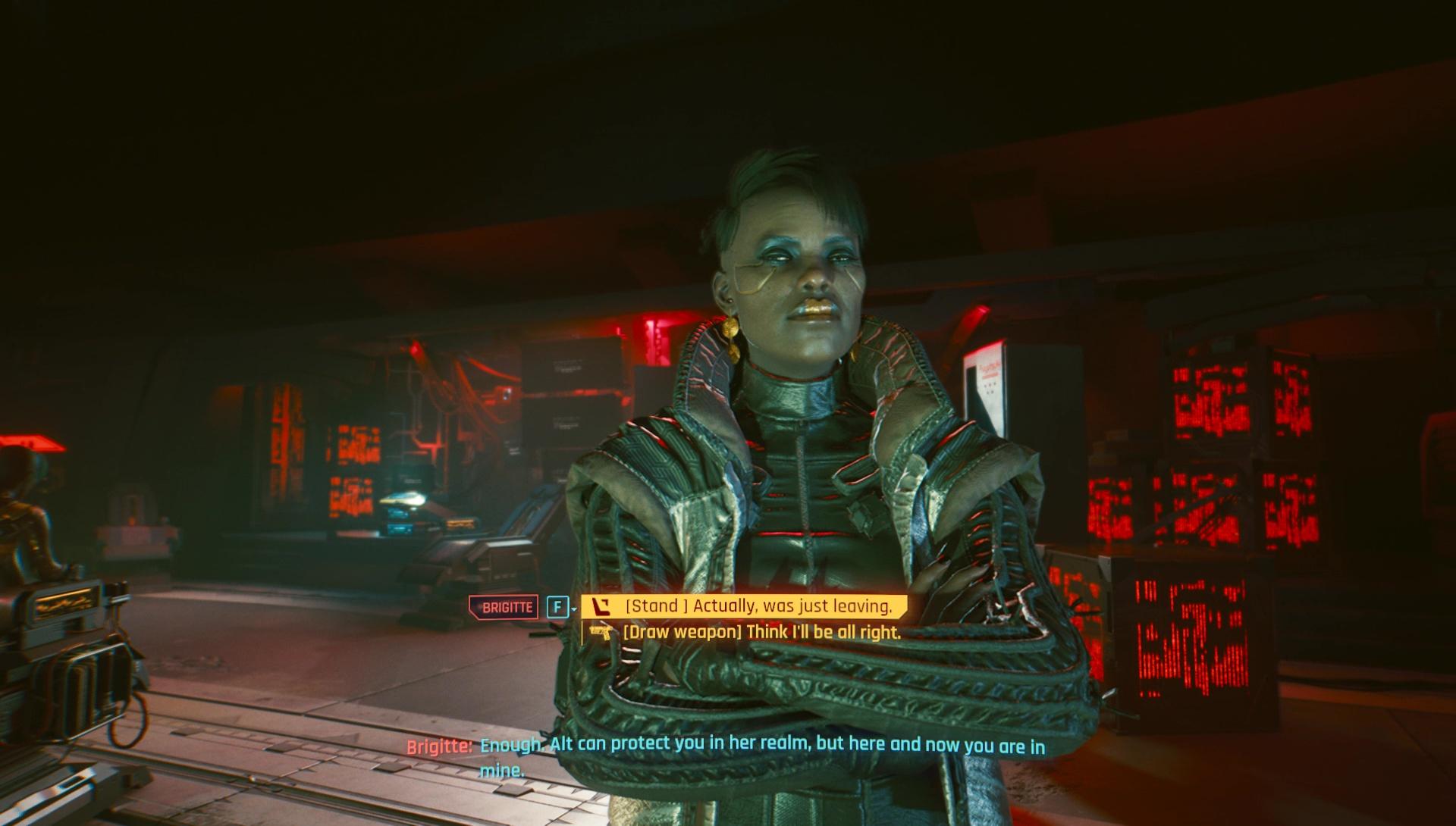 Cyberpunk 2077 Transmission, Kill Brigitte & Voodoo Boys
