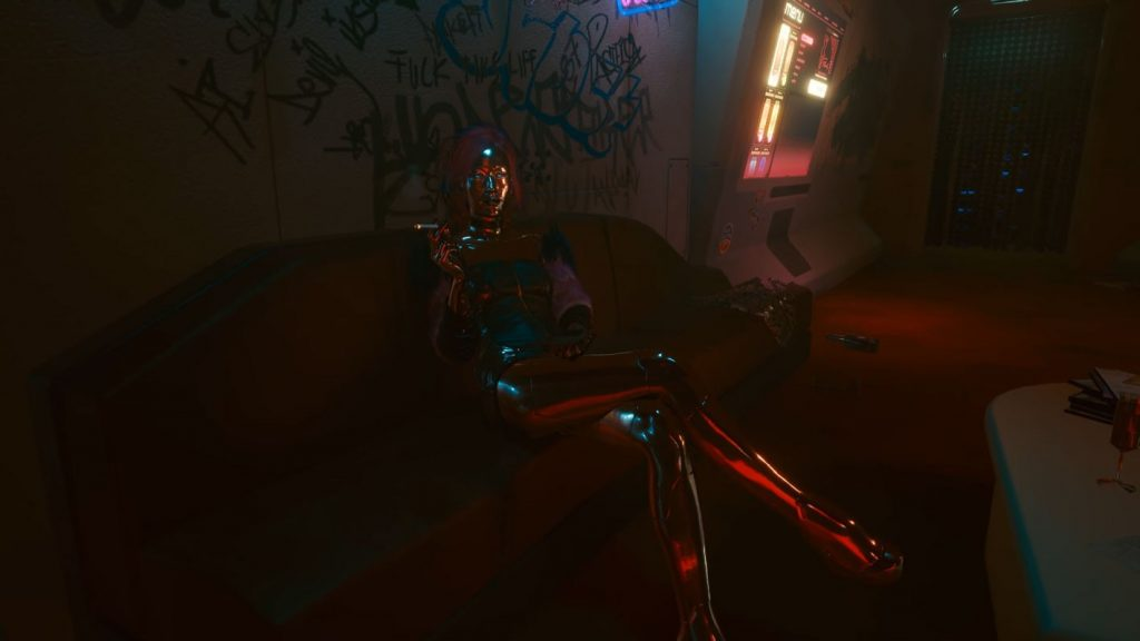 cyberpunk 2077 violence lizzy wizzy lie or tell the truth