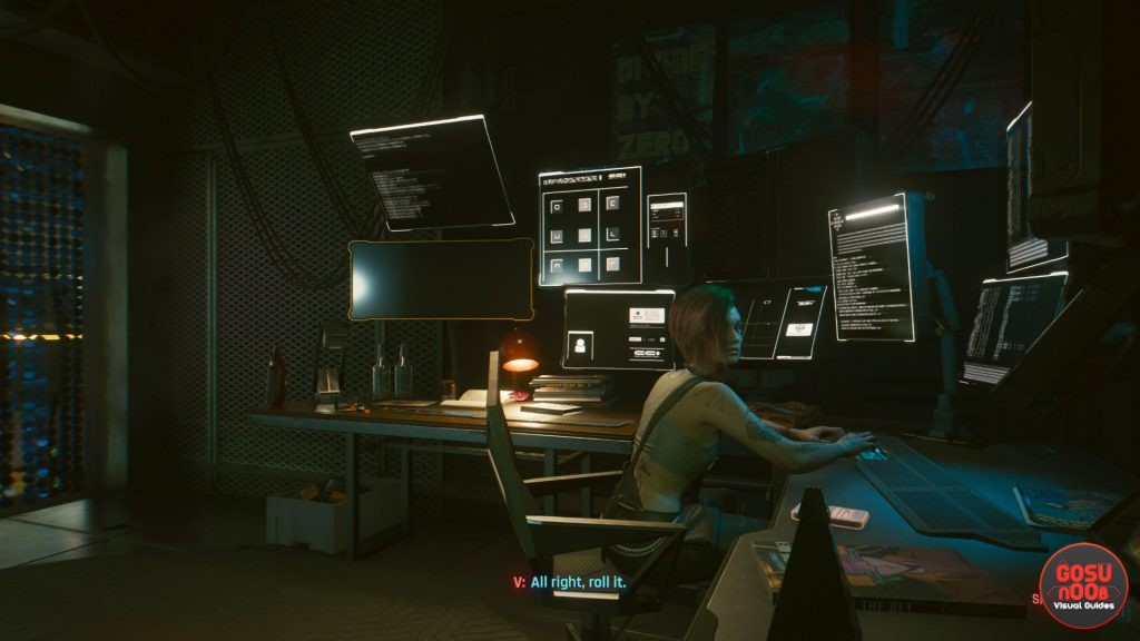 double life cyberpunk 2077 look for clues in the recording