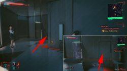 find & open hidden door cyberpunk 2077 dream on