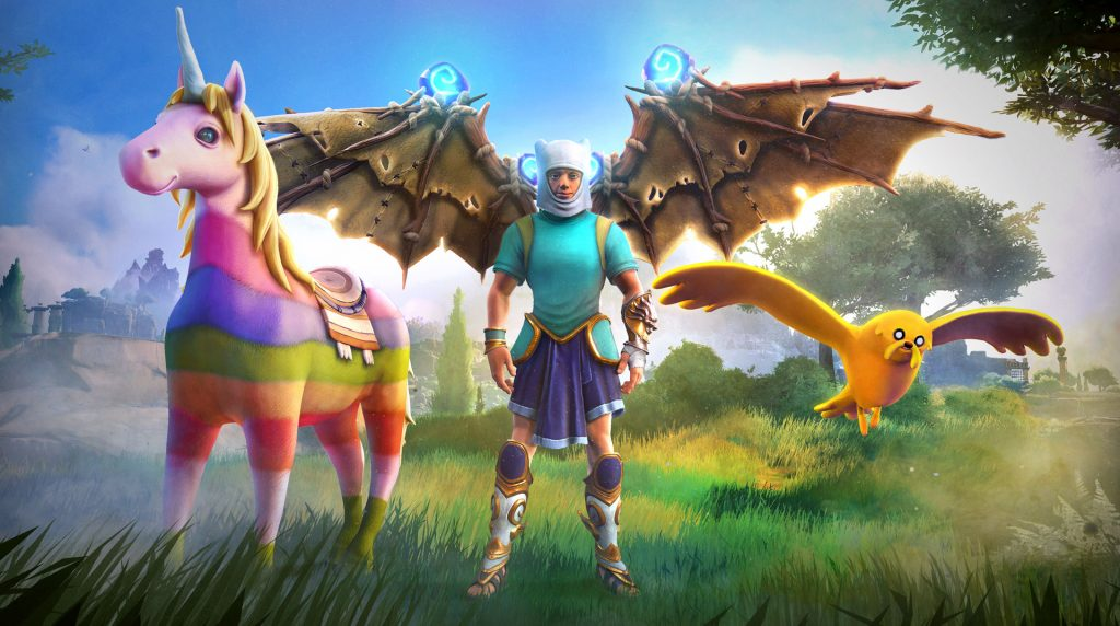immortals fenyx rising adventure time character pack unveiled