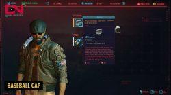media baseball cap legendary clothes cyberpunk 2077