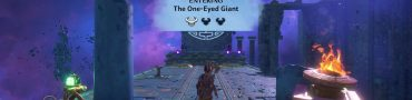 one-eyed giant tartaros vault immortals fenyx rising blurry vision quest