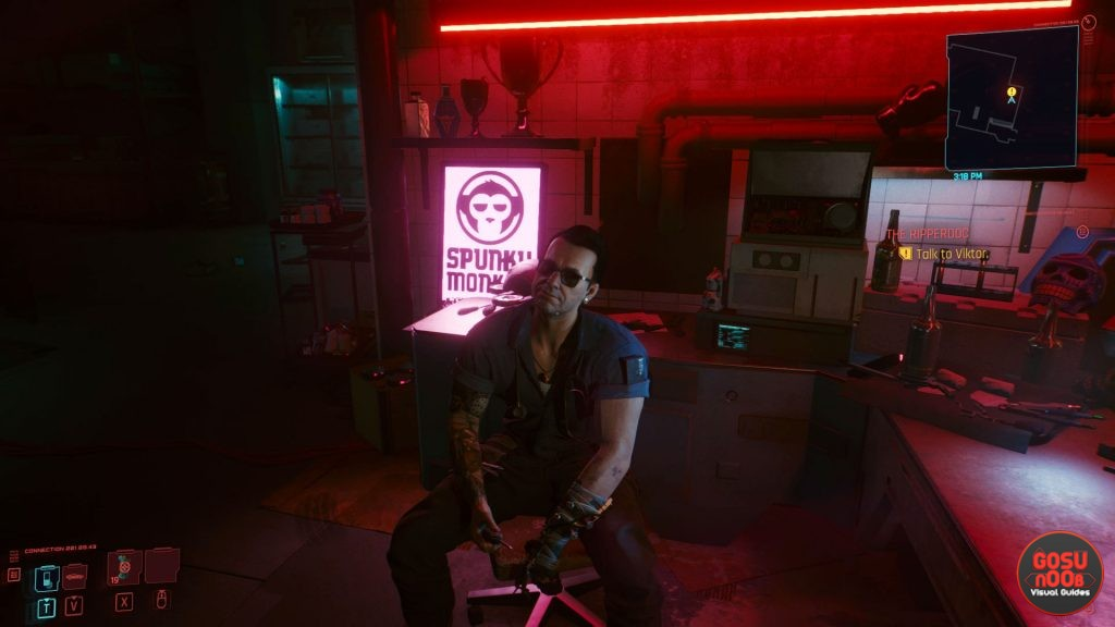 the ripperdoc talk to viktor bug solution cyberpunk 2077