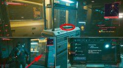 where to find brick door location cyberpunk 2077 pickup quest