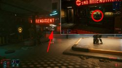 where to find iconic weapons cyberpunk 2077 dying night