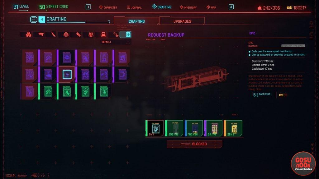 cyberpunk 2077 request backup