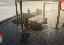 hitman 3 flying monkey business where to place banana