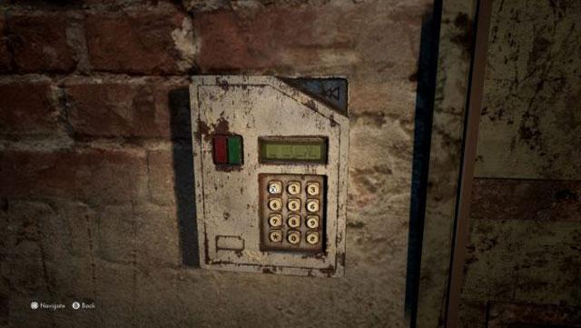 the medium basement door code location investigate red house