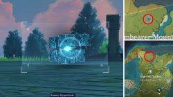 blue creature five flushes of fortune location genshin impact