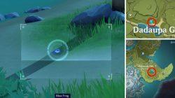 blue frog location genshin impact