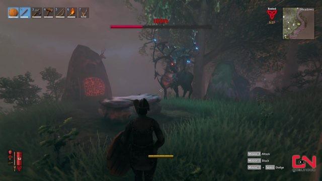 valheim first boss eikthyr how to summon and defeat
