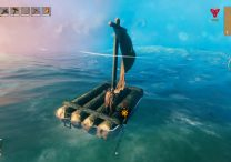 valheim raft controls and how to sail in valheim