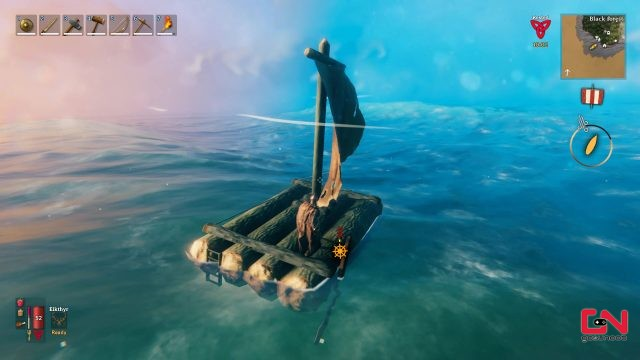valheim raft controls and how to sail in valheim