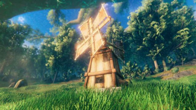 valheim windmill & spinning wheel