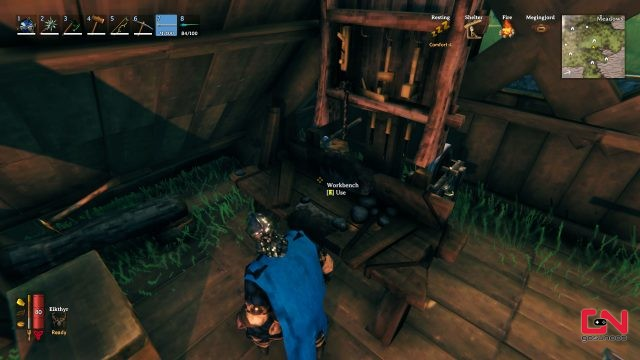 Valheim Workbench Upgrade To Level 4 5 6
