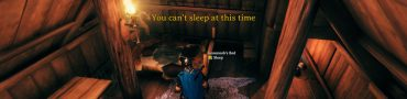 valheim you cant sleep at this time