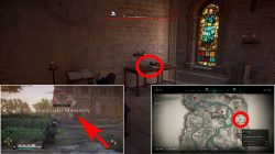 where to find saint george clue ac valhalla exe river location
