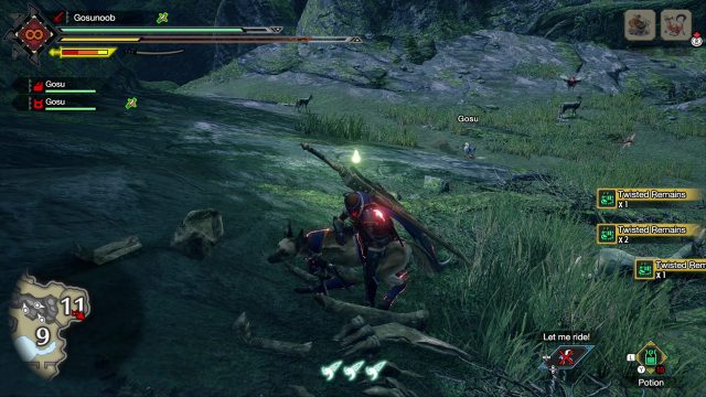 MHR Twisted Remains Location Monster Hunter Rise