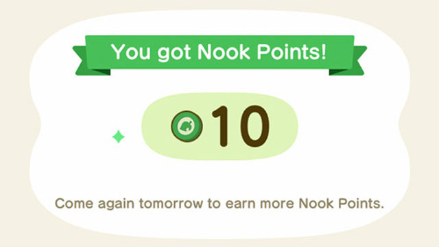 animal crossing nook points new currency