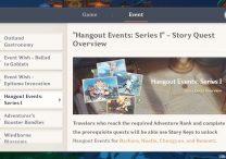 hangout events genshin impact