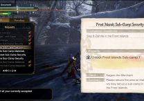 mhr meaty hide locations slay zamite sub camp 1 materials monster hunter rise