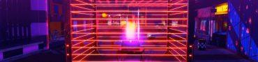 persona 5 strikers miyamae park treasure chest behind lasers