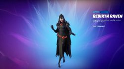 rebirth raven fortnite skin